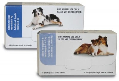 MILBEMAX Classic SMALL DOG & PUPPY 0.5KG-5KG (50)
