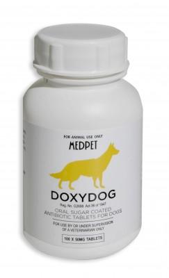 DOXYDOG 50MG (100) (YELLOW)