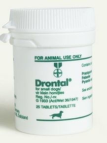DRONTAL DOG SMALL 25's