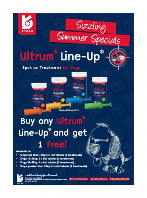 ULTRUM LINE-UP 20-40KG (2'S) (YELLOW) (1 + 1 FREE)